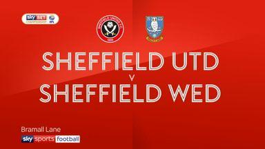Sheffield Utd 0-0 Sheffield Wednesdsy