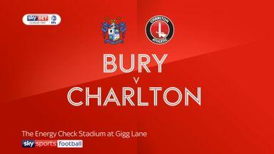 Bury 0-1 Charlton