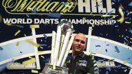 skysports rob cross world darts champion trophy 4196496