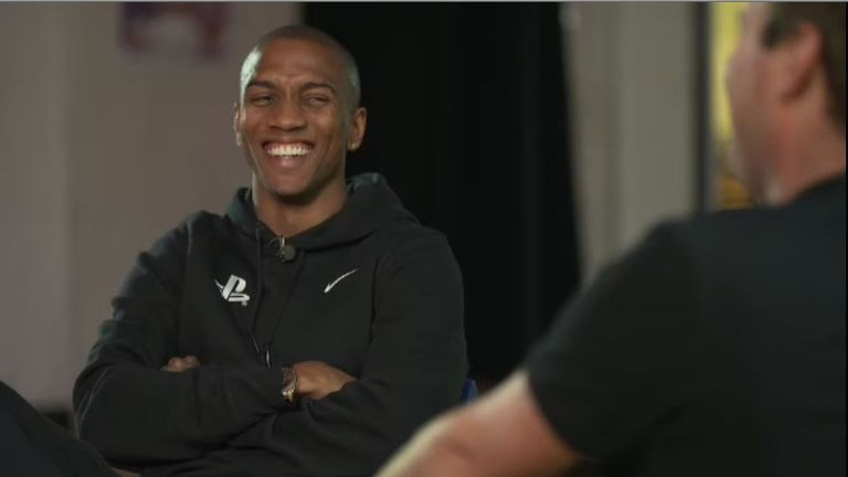 Ashley Young speaks to Soccer AM's Tubes
