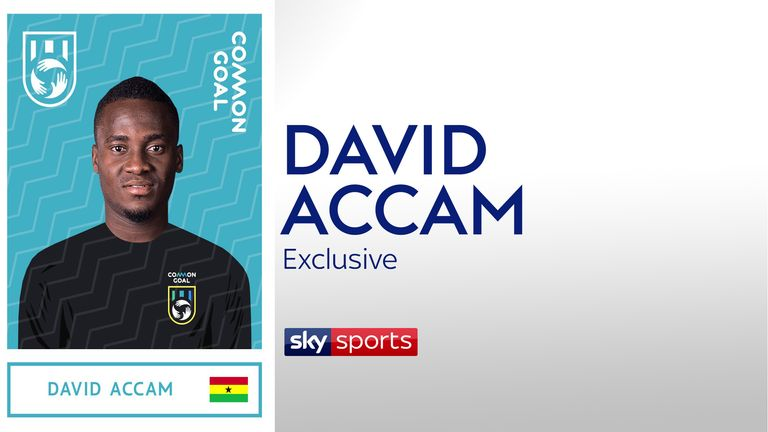 Exclusive interview with David Accam discussing his decision to join Common Goal