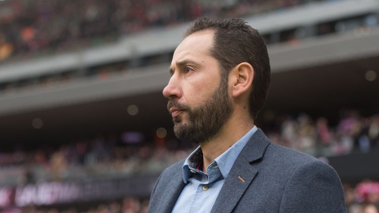 Pablo Machin is the new manager at Sevilla