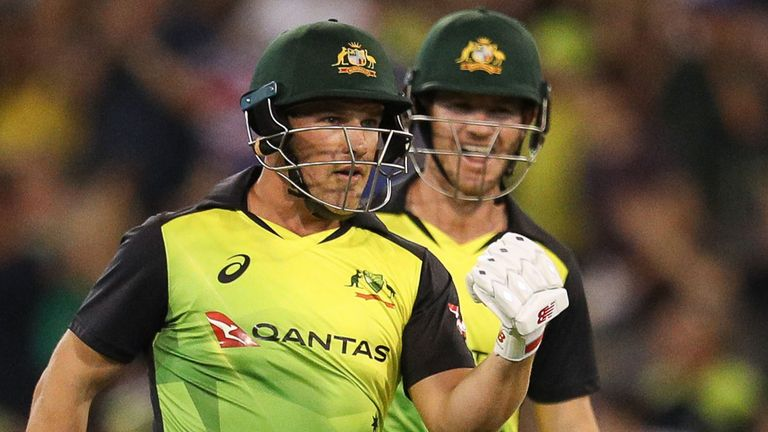Australia chase down record T20 target to beat New Zealand