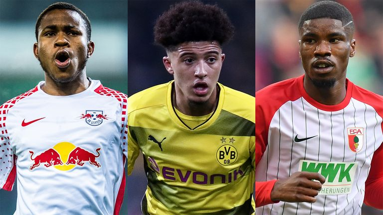 Ademola Lookman, Jadon Sancho and Kevin Danso are impressing in Germany