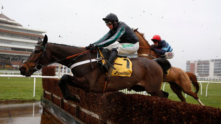 Altior ridden by Nico de Boinville should take all the beating in the Champion Chase