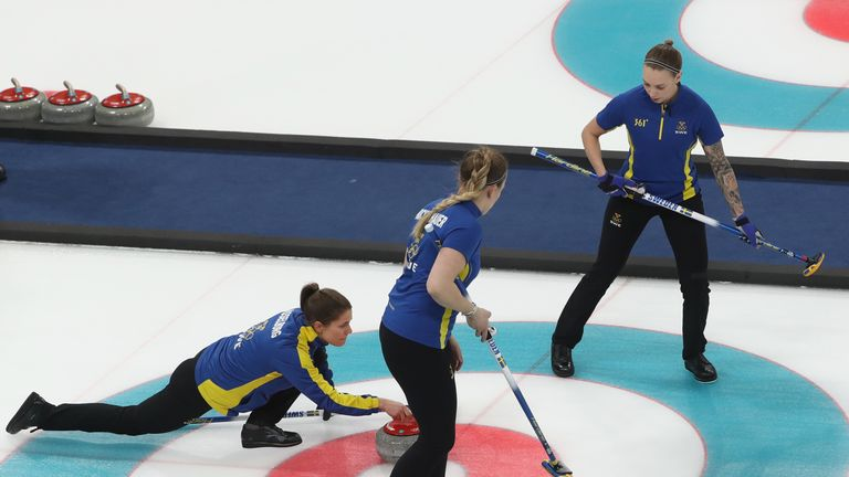 Anna Hasselborg was in brilliant form in leading Sweden to the final