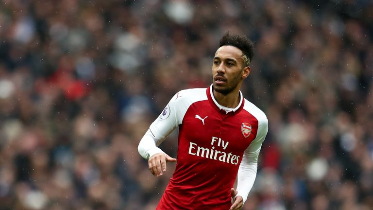 Pierre-Emerick Aubameyang cannot play against Ostersunds due to a UEFA ruling