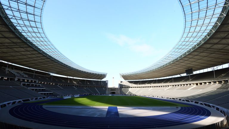 A silhouette of the Olympic stadium will feature in the tattoo