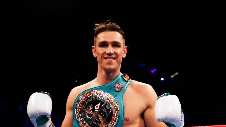 Callum Smith hopes to face either George Groves or Chris Eubank Jr