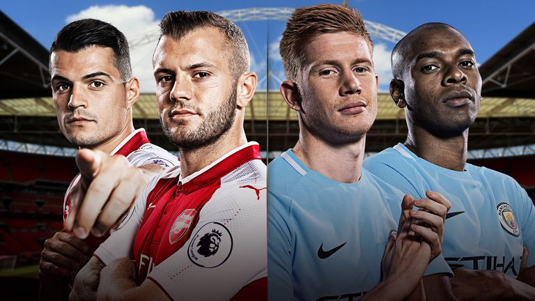 Arsenal take on Manchester City, live on Sky Sports Football