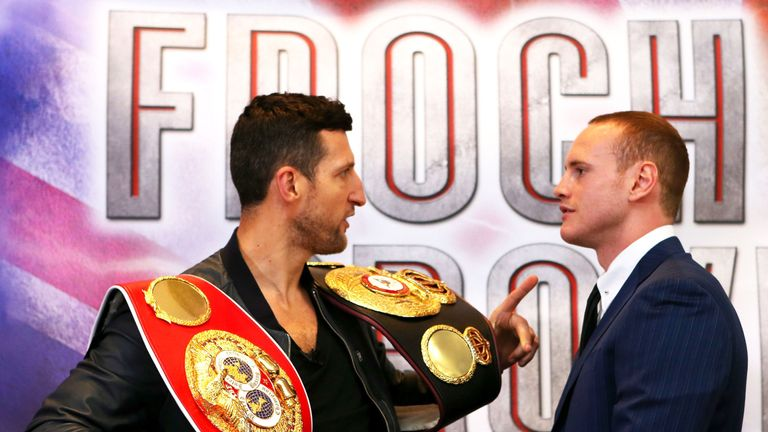 Carl Froch warns not to overlook George Groves' punch power