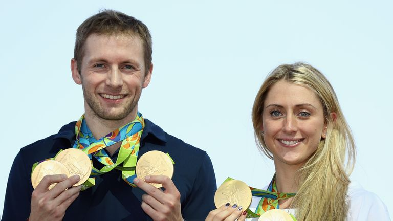 Jason Kenny and Laura Kenny both competed at the World Championships, but won't be heading to Australia's Gold Coast