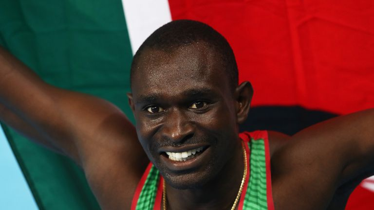David Rudisha is putting the Diamond League ahead of the Commonwealth Games