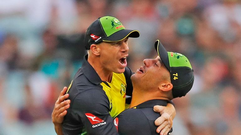 David Warner has led Australia into the Tri-Series final in Steve Smith's absence