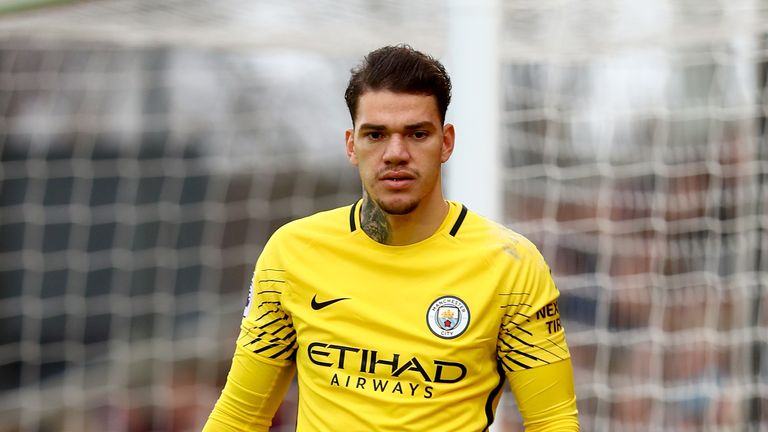 Manchester City's Ederson is back-up to Alisson with the Brazil national team