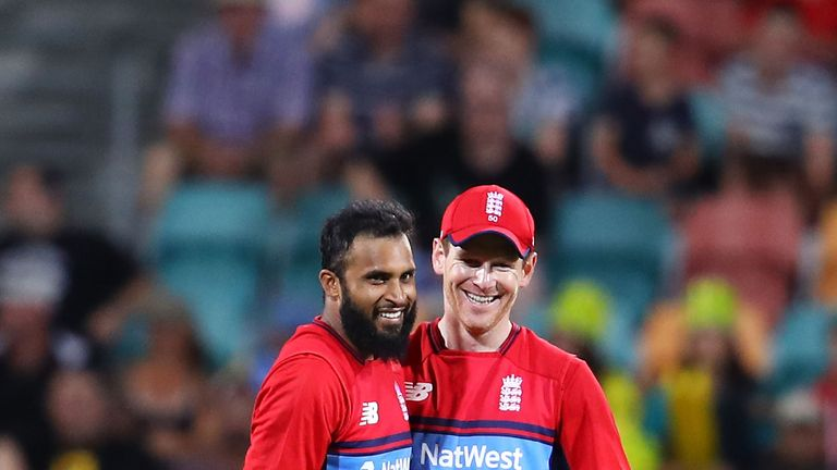 Eoin Morgan (right) has not played a Championship game since 2015