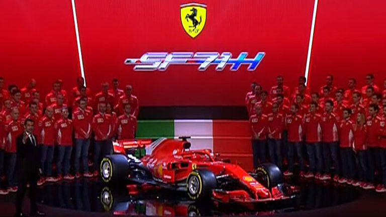 Ferrari launches new F1 contender