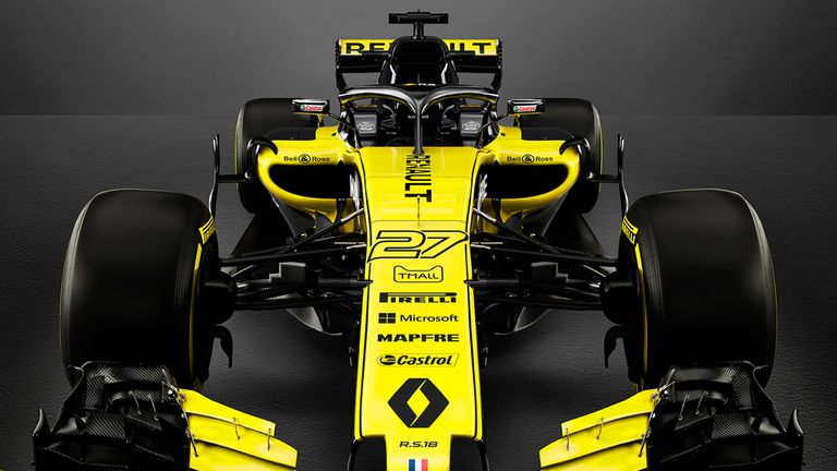 The Renault RS18 Hopes Are High For A Big Step Up In Performance From The  Renault Outfit In 2018, Their Third Full Season As A U0027worksu0027 Outfit  Following ...