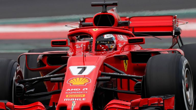 f1 2018 testing day one red bull fastest from mercedes and ferrari f1 news. Black Bedroom Furniture Sets. Home Design Ideas