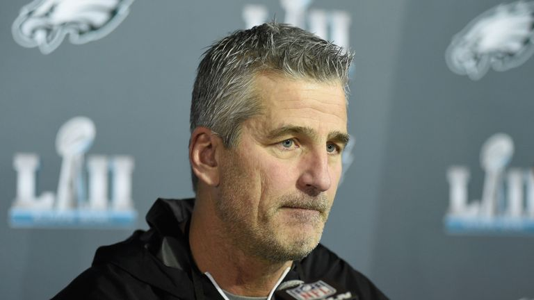 Colts officially name Eagles OC Frank Reich as head coach