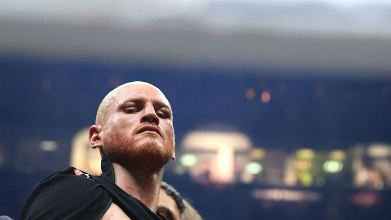 George Groves suffered a shoulder injury in the semi-final