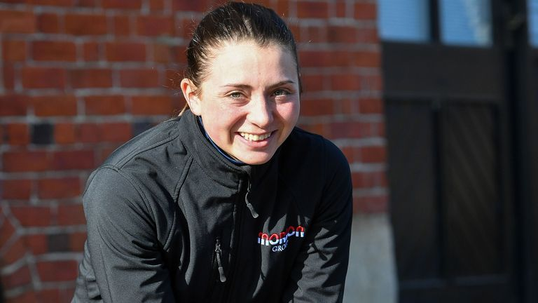 Bryony Frost: Rising star in the saddle