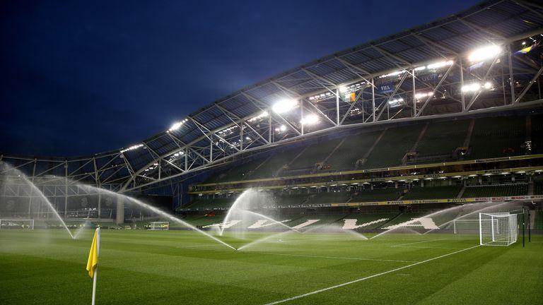 Martin O'Neill's side will welcome USA to the Aviva Stadium on June 2