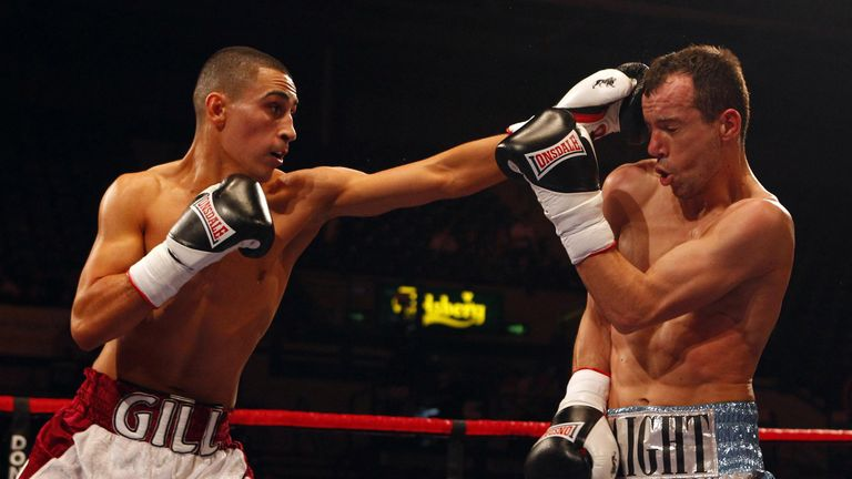 Jordan Gill (left) is also on our live stream from The O2, 5pm, Saturday