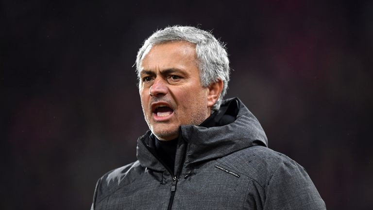 Jose Mourinho was left baffled by the VAR decision to cancel out Juan Mata's goal against Huddersfield