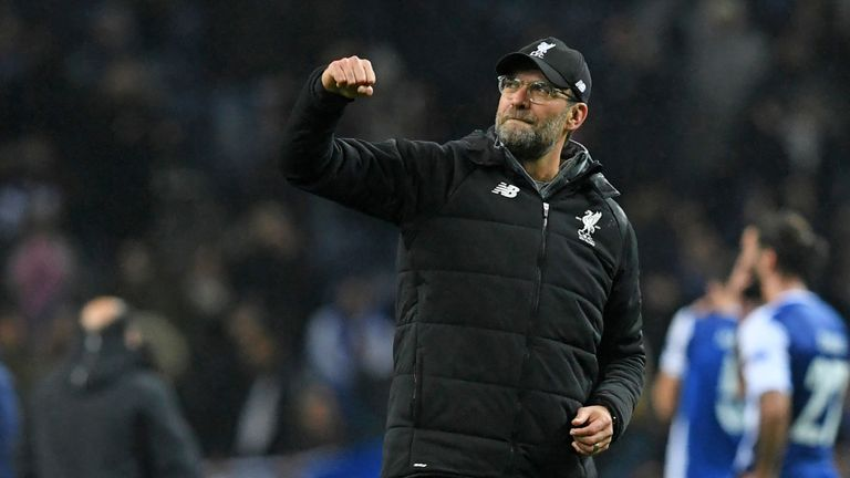 Jurgen Klopp's Liverpool host West Ham on Saturday