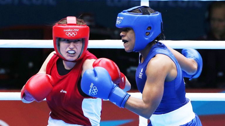 Katie Taylor had a hugely successful amateur career, and won gold at the London Olympics in 2012