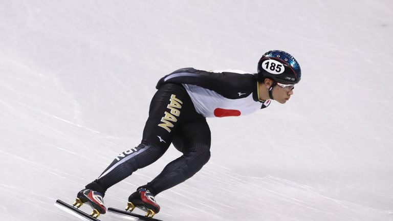 Japanese speedskater Kei Saito has been sent home