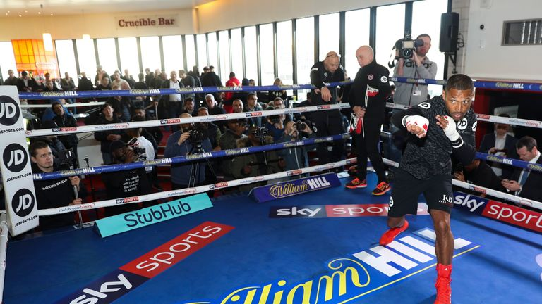 Kell Brook is back in action after back-to-back defeats