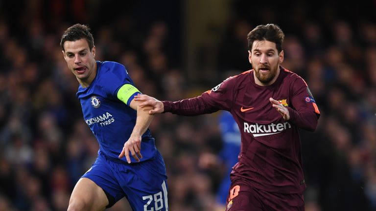 Barcelona will look to star man Lionel Messi to overcome Chelsea this season
