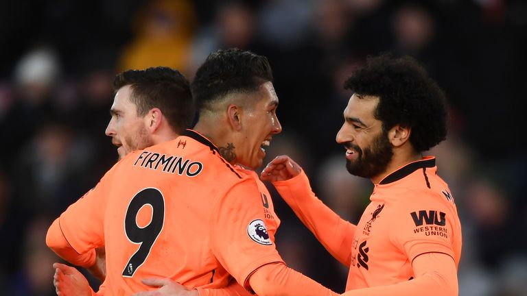 Mohamed Salah and Roberto Firmino both scored against Southampton to make the Power Rankings top 10