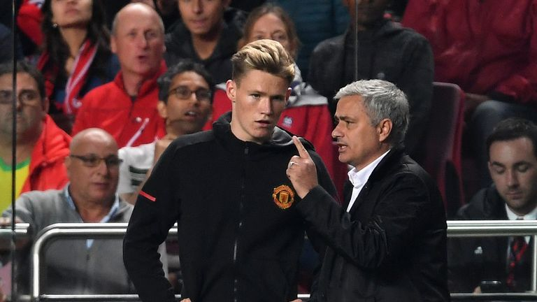 Scott McTominay has earned the trust of Manchester United boss Jose Mourinho