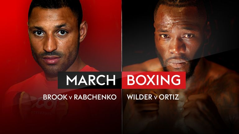 Fight Night live on Sky Sports Action is one of the many boxing highlights on Sky Sports in March