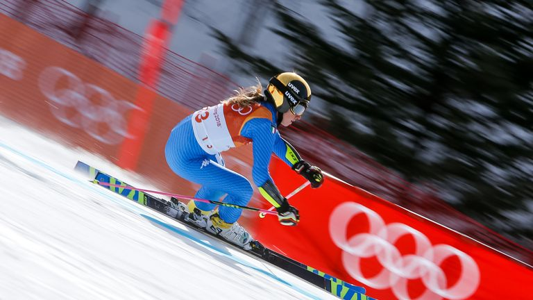 Hansdotter upstages vomiting Shiffrin for slalom gold