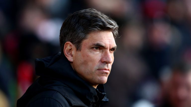 Mauricio Pellegrino replaced Claude Puel as manager last summer