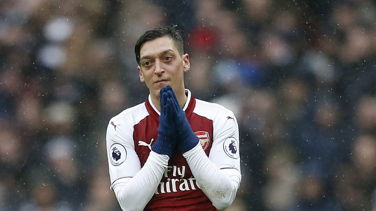 Should Mesut Ozil take a penalty if one gets awarded at Wembley?