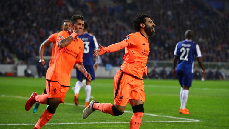 Liverpool sealed the joint biggest away win in the knock-out stages of the Champions League with their 5-0 thrashing of Porto