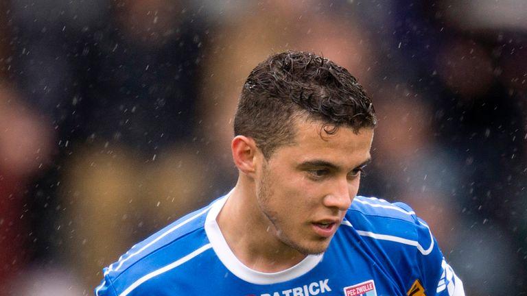 Mustafa Saymak scored PEC Zwolle's third goal