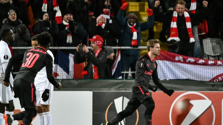 Europa League success now looks Arsenal's best route back into Europe