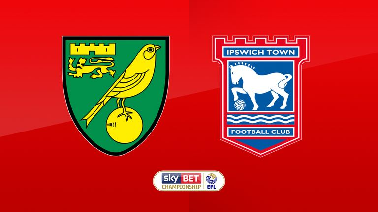 Follow all the action from the East Anglian derby at Carrow Road