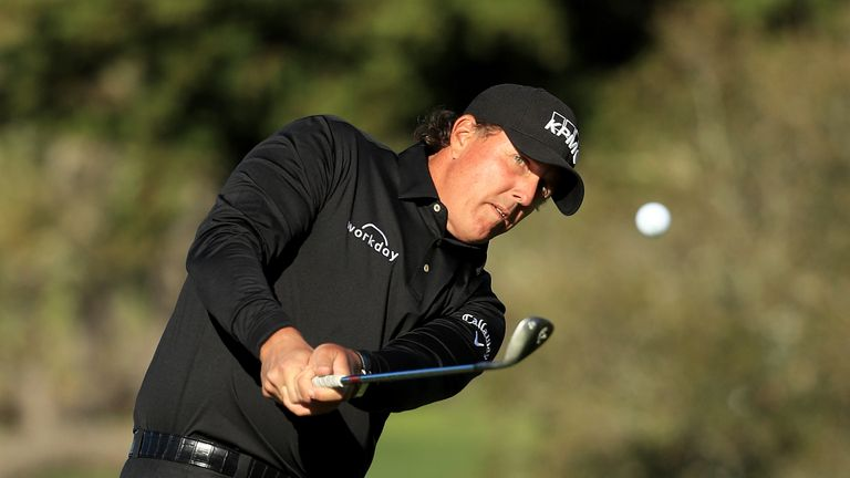 Phil Mickelson had to settle for a share of second place
