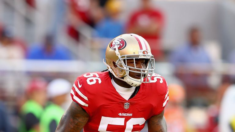 Reuben Foster was charged on April 12 with domestic violence
