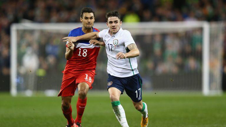 Robbie Brady scored twice the last time the USA visited Dublin