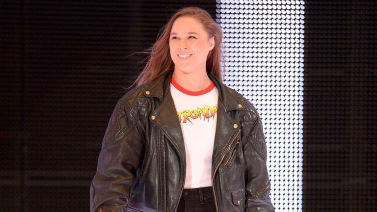 WWE newcomer Ronda Rousey and Nia Jax clashed on social media