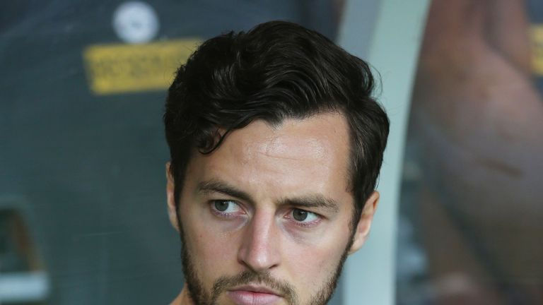 Ryan Mason suffered a fractured skull in a game at Chelsea in January last year