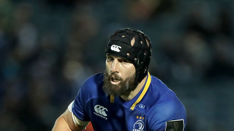 Scott Fardy was fantastic once again for Leinster in the engine room